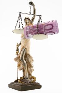 Die Geldstrafe ist eine Sanktion des Strafrechts.