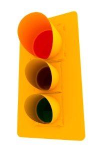 Eine rote Ampel in der Probezeit zu überfahren bedeutet eine Probezeitverlängerung.