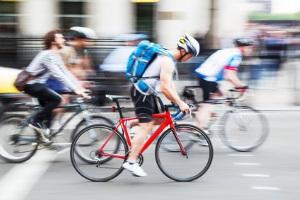 Auch Radfahrer sollten keine rote Ampel überfahren.