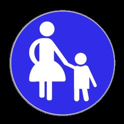 Das Verkehrszeichen 239 ist nicht mit dem Schild für die Fußgängerzone zu verwechseln.